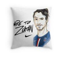 dear to zlatan Throw Pillow