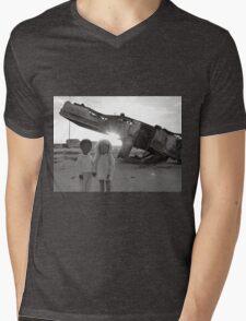 Freinds Mens V-Neck T-Shirt