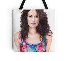 Lena Headey Art Tote Bag