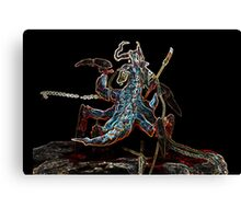 Neone groove broodmother Canvas Print