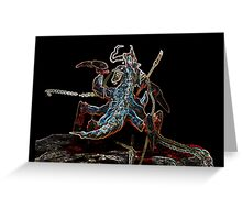 Neone groove broodmother Greeting Card