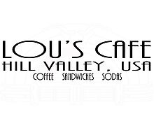 Lou's Cafe Photographic Print