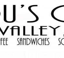 Lou's Cafe Sticker