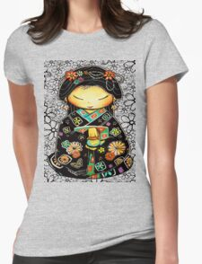 Little Multicolour Teapot Floral  T-Shirt