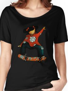 Skater Girl TShirt by Karin Taylor Women's Relaxed Fit T-Shirt