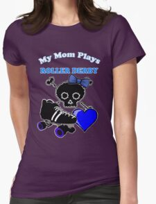 My Mom Plays Roller Derby (Girl) T-Shirt