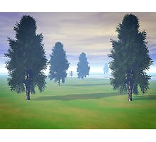 Fairway To Seven Photographic Print