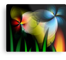 Floral designs Metal Print
