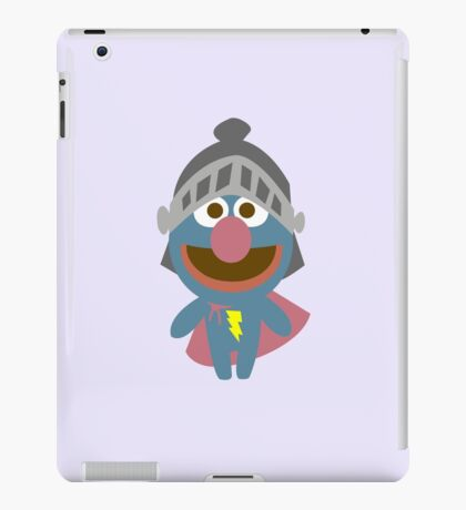 Baby grover in armor baby bodysuits geek funny nerd iPad Case/Skin