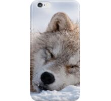 I lay my head down to sleep iPhone Case/Skin