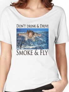 Smoke and Fly Women's Relaxed Fit T-Shirt