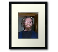 Dunk Framed Print