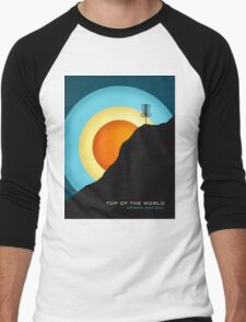 Extreme Disc Golf Men's Baseball ¾ T-Shirt