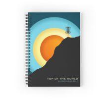 Extreme Disc Golf Spiral Notebook