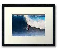 A Big Day at the Office .... Framed Print