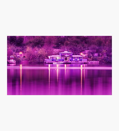 The river pier Photographic Print