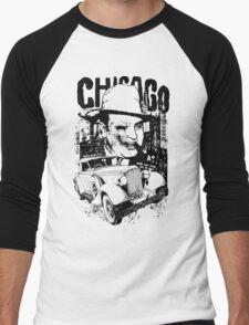 chicago mafia wars Men's Baseball ¾ T-Shirt
