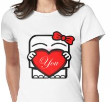 Love You! - Emily Womens Fitted T-Shirt