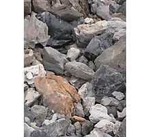Multi-Colored Volcanic Rocks Photographic Print