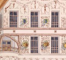 Esquisses décoratives Binet Rene 190x 0123 Scraffito Sticker