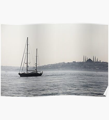 Eastern Sailing Poster