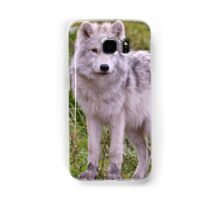 They're Growing - Arctic Wolf Pups  Samsung Galaxy Case/Skin