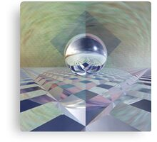 Distorted Reflection Canvas Print
