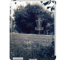 Frisbee Disc Golf Basket iPad Case/Skin