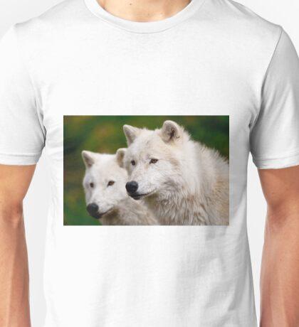Arctic Wolf Pair Unisex T-Shirt