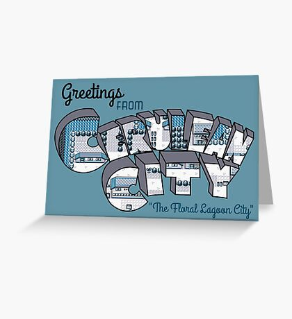 Greetings from Cerulean City Greeting Card