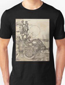 Albrecht Dürer or Durer The Triumphal Chariot of Maximilian I The Great Triumphal Car plate 2 of 8 Unisex T-Shirt