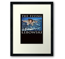 The Flying Lebowski Framed Print