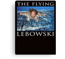 The Flying Lebowski Canvas Print