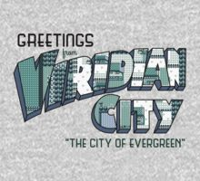 Greetings from Viridian City One Piece - Long Sleeve