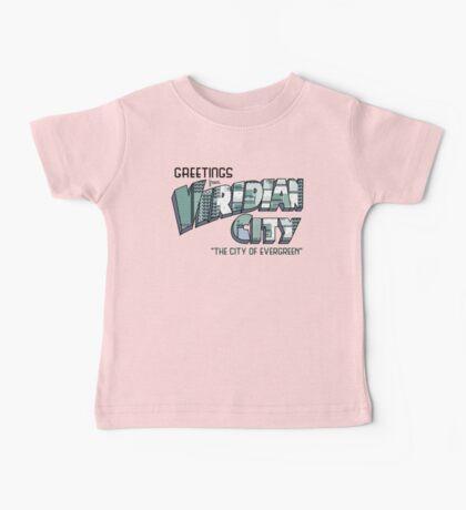 Greetings from Viridian City Baby Tee