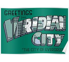Greetings from Viridian City Poster