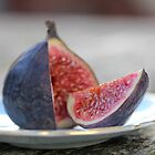 Perfect Fig, Sliced by Fiona Beckman