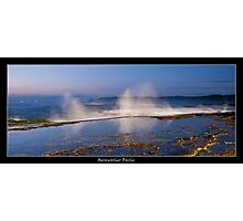 Merewether baths Photographic Print