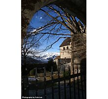 Gateway to the castle Photographic Print