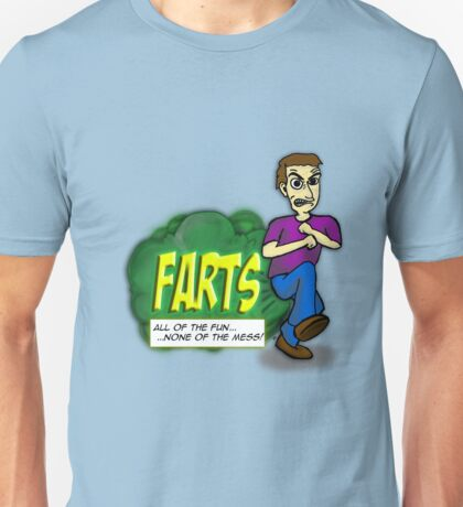 Farts - All of the fun none of the mess Unisex T-Shirt