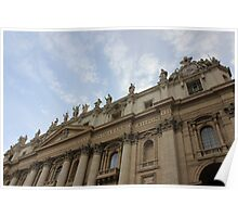 Vatican City Skies Poster