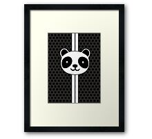 Racing Panda Framed Print