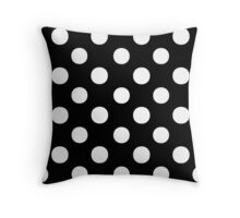 Polka Dots 2 Throw Pillow
