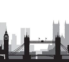 The London BIG Skyline by AleCampa