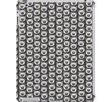 Sad Bears Black & White Pattern iPad Case/Skin