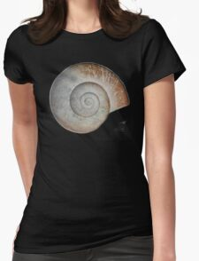 Snail Shell Womens Fitted T-Shirt