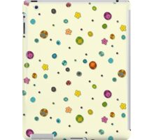 ivory pop flower spot iPad Case/Skin