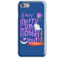 Un-Monday! iPhone Case/Skin