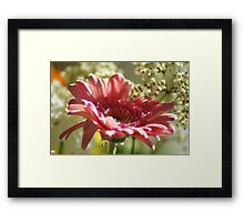 Think Pink ~ Breast Cancer Awareness ~ Framed Print