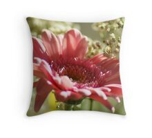 Think Pink ~ Breast Cancer Awareness ~ Throw Pillow
